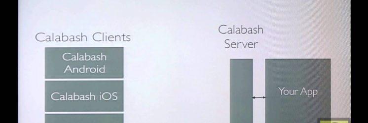 Automated Acceptance Testing for Mobile Apps with Calabash
