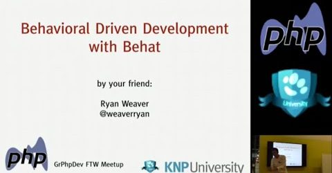 Behat v3! Behavioral-Driven-Development, Functional Tests and Selenium