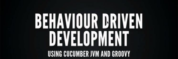 Behaviour Driven Development with Cucumber, Groovy and Grails