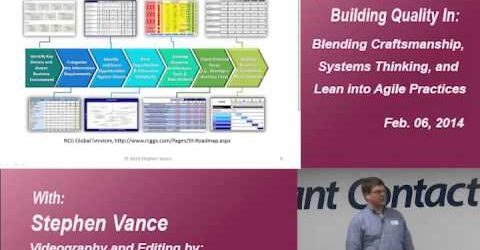 Building Software Quality In