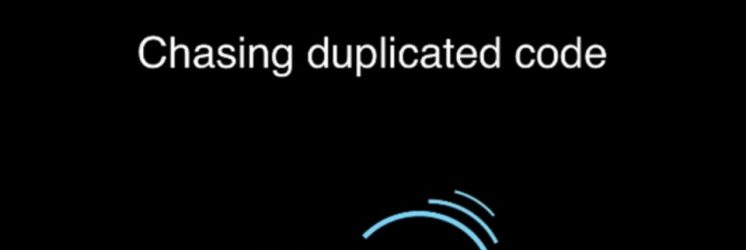 Chasing Code Duplications with Sonar