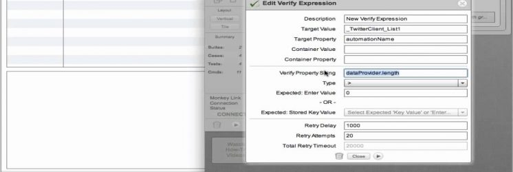 Flex Testing with FlexMonkey Reloaded: ?Verify Expression Command