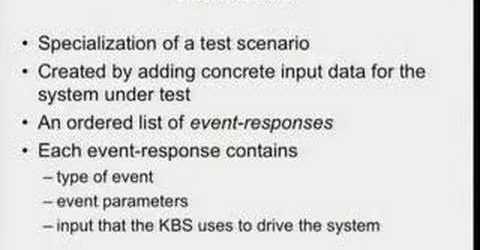 GTAC 2007: Specification based Testing