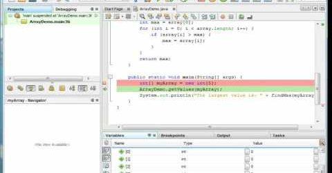 Java #N2 – Using the NetBeans Debugger