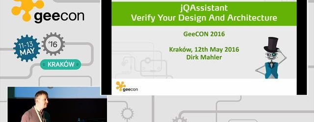jQAssistant – Verify Your JavaScript Design & Architecture