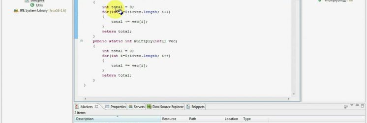 JUnit Test using Eclipse