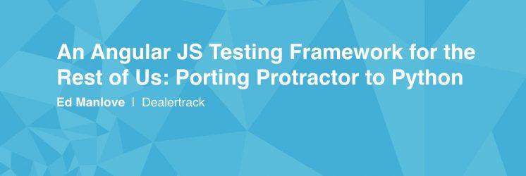 Protractor: An Angular JS Testing Framework