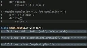 Refactoring A Cyclomatic Complexity Script