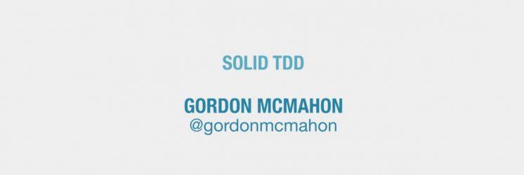 SOLID TDD