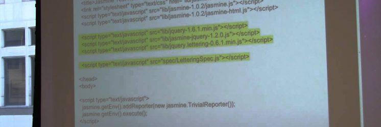 Test-Driving Javascript with Jasmine