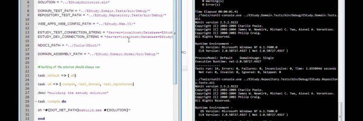 Using Rake to Build, Run Unit Tests and Create Documentation